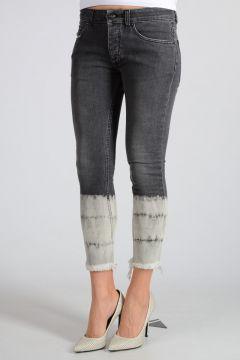 Jeans SKINNY CROPPED in Denim Stretch 14cm