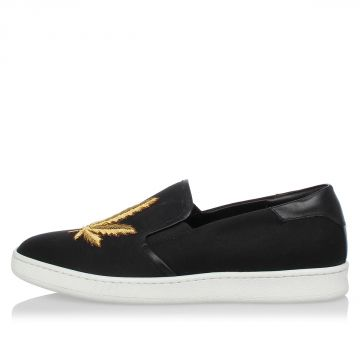 Embroidery Slip on Sneakers
