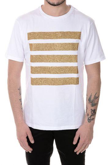 T-Shirt in Cotone con Dettaglio Glitter