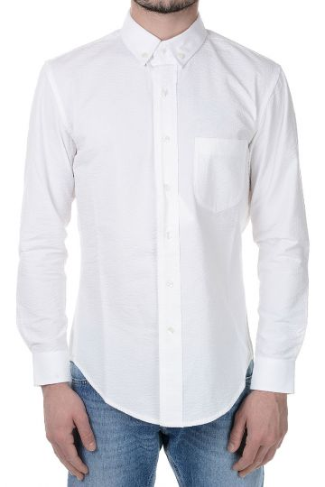 Cotton SEERSUCKER shirt