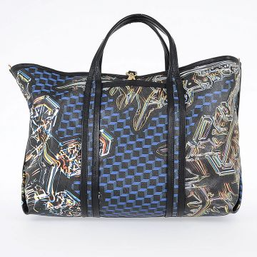 Shoulder Bag CANVAS CRYSTAL CUBE