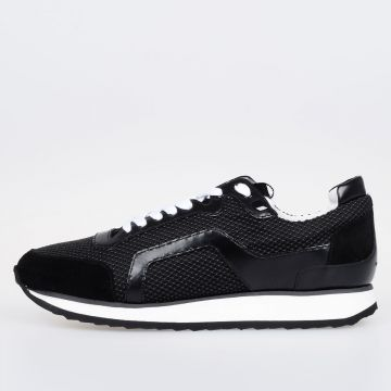 Sneakers in Pelle e Gomma