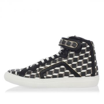 Sneakers CANVAS CUBE In Pelle