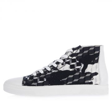COTTON CAMOCUBE High Sneakers