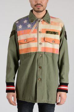 Leather Cotton Jacket