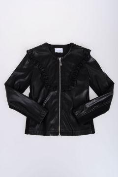 Faux Leather AMAIA Jacket