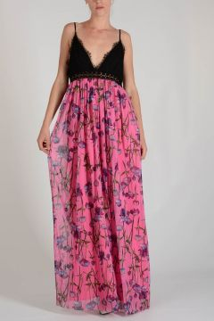 Laced and Flowered CUSPIDE Dress