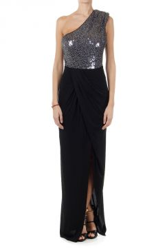 PETUNIA long dress with sequins