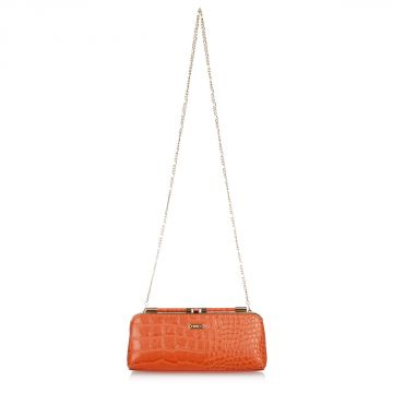 MISS CINDY Logo Clutch