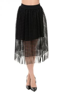 Skirt SALOME With Fringes