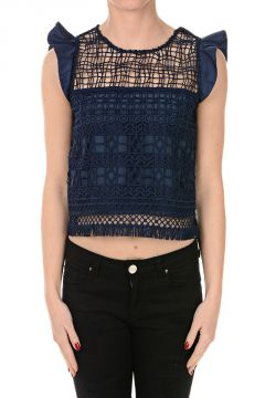 Macramé Top MARGUERITE