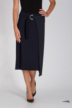 Pinstripe Fabric DONARE Skirt