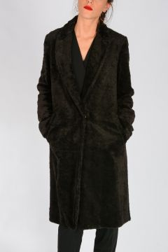 Cotton And Linen EXODUS Peluche coat
