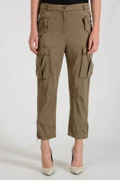 PRATO Pants with Ankle Zip