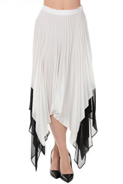 Asymmetric Cut Skirt LENZUOLO