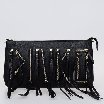 Leather MISS VALERIE Clutch Bag