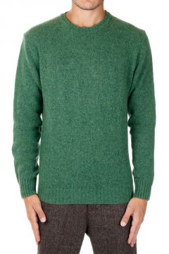 Virgin Wool Round Neck IRLANDA Sweater