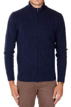 Cardigan FULL ZIP in Lana Vergine