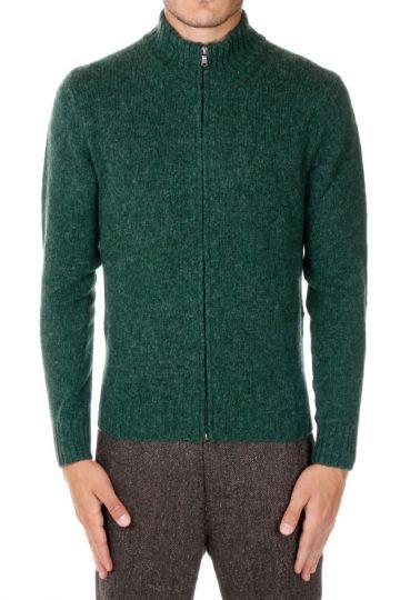 Virgin Wool FULL ZIP Cardigan