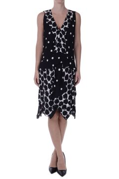 Printed asymmetric Cut dress