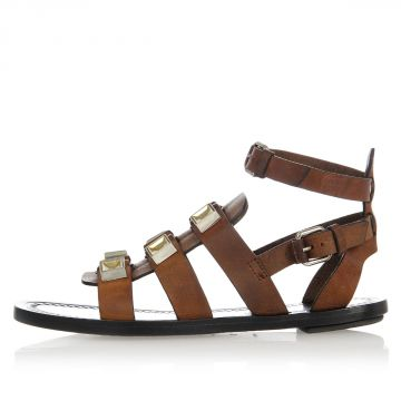 Studded ELBAMATT Leather Sandals