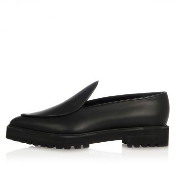 Leather Pointy Loafer