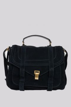 Borsa PS1 EXTRA LARGE in Pelle Scamosciata