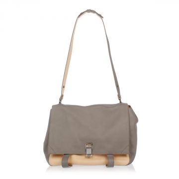 Leather PS LARGE COURIER Satchel Bag