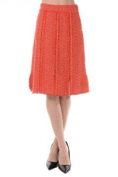Cotton Blend Miniskirt