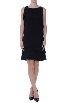 Flared asymmetric Cut dress