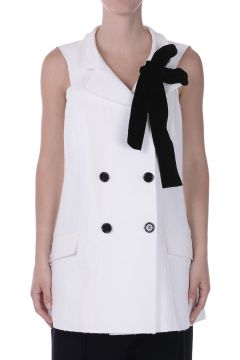 Cotton Silk Long Vest