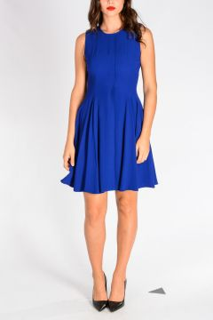 A-line Pleated dress