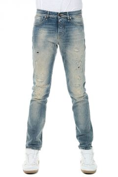 Jeans MIKE ICON in Destroyed Denim 18 cm