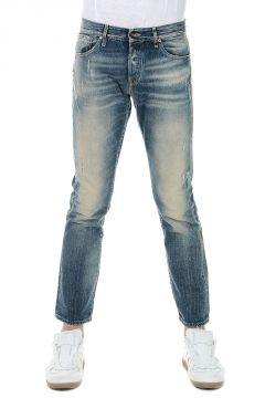Jeans TIM ICON SLIM FIT in Denim Stonewashed 18 cm