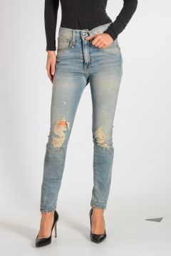Jeans in Denim Destroyed 11cm