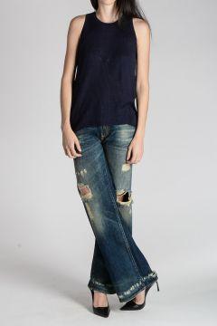 Jeans JANE con strappi 27 cm