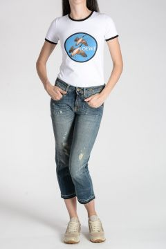 Jeans STRAIGHT BOY in Denim Stretch 19 CM