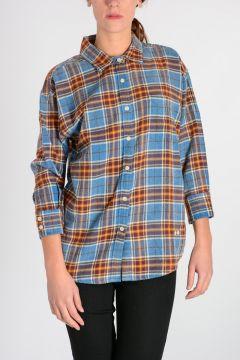 X-OVER Plaid Checks Shirt