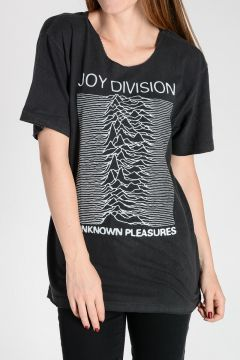 T-shirt JOY DIVISION In Misto Cotone