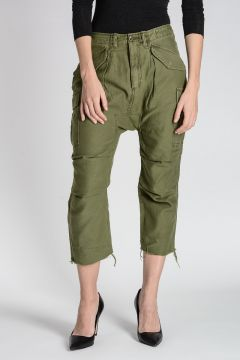 Pantalone CARGO HAREM In Cotone