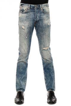 DENIM & SUPPLY 18 cm Slim-Fit Vintage Effect Denim Jeans