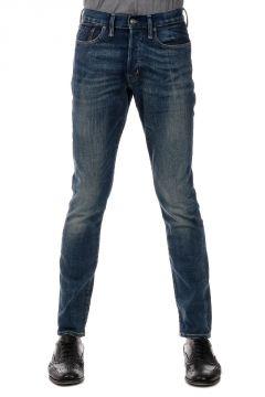 18 cm Low Skinny Fit Dark Wash Denim Jeans