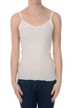 Cotton Blend Embroidered Top