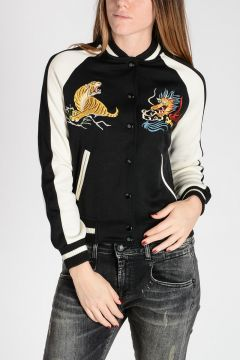 DENIM & SUPPLY Embroidered Bomber Jacket