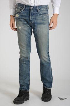 DENIM & SUPPLY 18cm Mixed Denim Slim Jeans