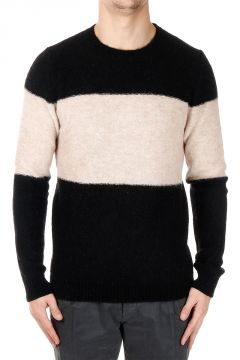 Two Tone Neck Sweater
