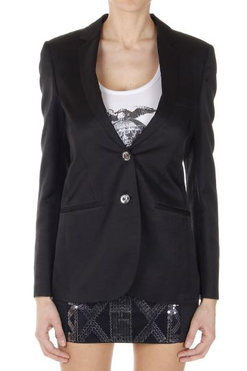 Two Buttons Single Breasted Blazer