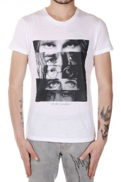 T-Shirt con Stampa Occhi DEAD FAMOUS