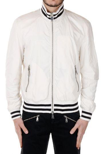 Zipper Bomber Jacket