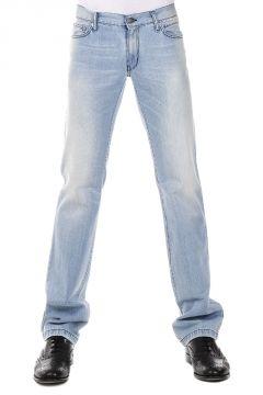 Jeans Regular Fit in Denim 21 cm